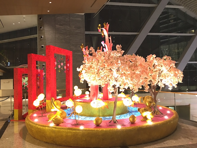 ICC chinese new year decoration