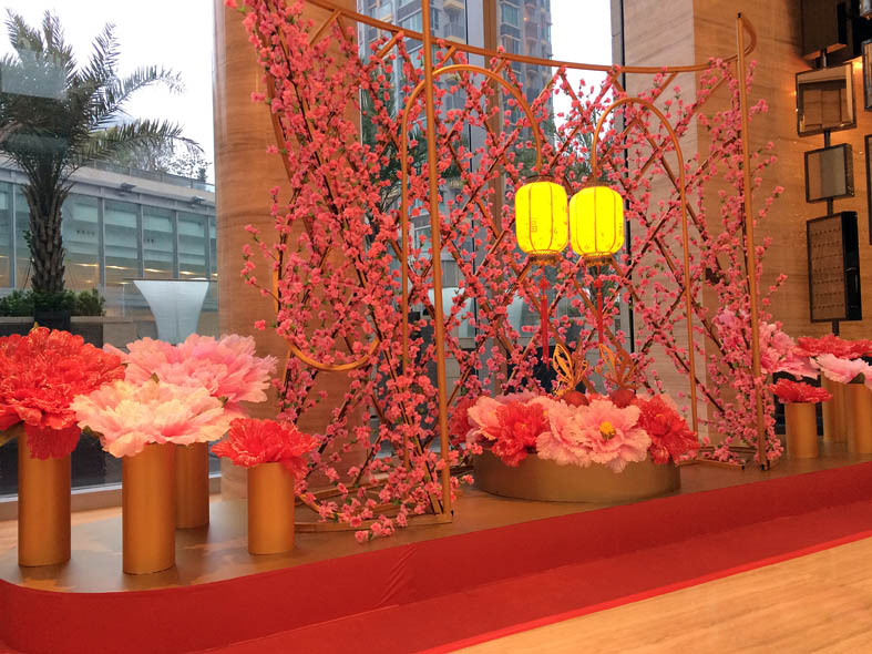 hk festival chinese new year decoration company